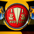 1954 Hudson Grille Emblem by Jill Reger