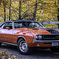 1970 Dodge Challenger Rt  by Expressive Landscapes Fine Art Photography by Thom