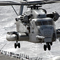 A Ch-53e Super Stallion Helicopter by Stocktrek Images