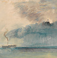 A Paddle-steamer In A Storm by Joseph Mallord William Turner