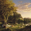 A Pic Nic Party by Thomas Cole