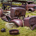 Abandoned Cars, Bodie Ghost Town by John Bosma