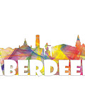 Aberdeen Scotland Skyline by Marlene Watson