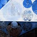 Abstract Painting - Lochmara by Vitaliy Gladkiy