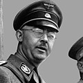 Adolf Hitler And Gestapo Head Heinrich Himmler Watching Parade Of Nazi Stormtroopers 1940-2015 by David Lee Guss