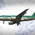 Aer Lingus Airbus A319 Art by David Pyatt