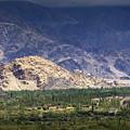 Aerial View Of Leh City Landscape Ladakh Jammu And Kashmir India by Rudra Narayan  Mitra