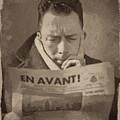 Albert Camus 1 by Afterdarkness