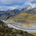 Aletsch Glacier, Switzerland by Ivan Batinic