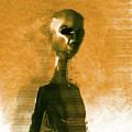 Alien Portrait by Raphael Terra