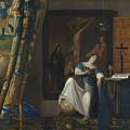 Allegory Of The Catholic Faith by Johannes Vermeer