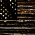 American Flag by Marvin Blaine