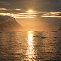 Antarctic Sunset by Andrew Parker