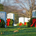 Arlington National Cemetery At Christmas by Craig Fildes