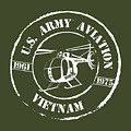 Army Aviation Vietnam by Sheila Broumley