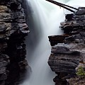 Athabasca Falls by Larry Ricker