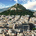 Athens Panorama by Anthony Dezenzio