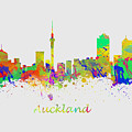 Auckland New Zealand Skyline by Chris Smith