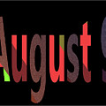 August 9 by Day Williams