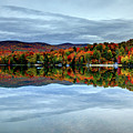 Autumn In The White Mountains Of New Hampshire by Denis Tangney Jr