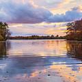 Autumn Sunset by Bryan Bzdula