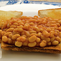Baked Beans On Toast by Louise Heusinkveld
