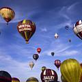 Balloon Fiesta by Angel Ciesniarska