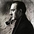 Basil Rathbone As Sherlock Holmes by John Springfield