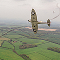 Battle Of Britain Spitfire  by Gary Eason