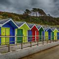 Beach Huts 1 by Steve Purnell