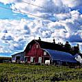 Beautiful Barn by Lori Faircloth