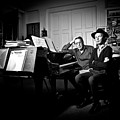 Beck And Philip Glass Photographed By Anna Webber, September 23rd, by Anna Webber