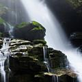 Big Bradley Falls North Carolina by Chip Laughton