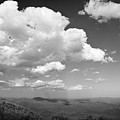 Black And White Blue Ridge Mountains by Chip Laughton