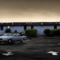 Blue Motel by John Hansen