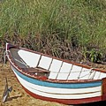 Boat And Anchor by Marilyn Holkham