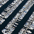 Boats In A Marina by Don Mason