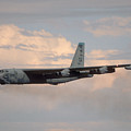 Boeing B-52g Stratofortress 59-2565 93rd Bomb Wing Castle Afb September 17 1992 by Brian Lockett