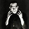 Boris Karloff As Frankenstein by John Springfield