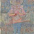 Boy In Fancy Dress by Paul Klee