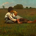 Boys In A Pasture by MotionAge Designs