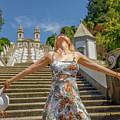 Braga Portugal Woman by Benny Marty