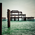 Brighton West Pier by Paul Stevens