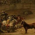 Bullfight - Suerte De Varas by Mountain Dreams
