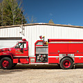 Burnington Iolta Fire Rescue - Tanker Engine 1550, North Carolina by Timothy Wildey