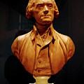 Bust Of Thomas Jefferson  by LeeAnn McLaneGoetz McLaneGoetzStudioLLCcom