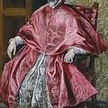 Cardinal Fernando Nino De Guevara by El Greco