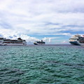 Caribbean Cruise Ships by Anthony Dezenzio