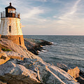 Castle Hill Lighthouse, Newport, Rhode Island by Dawna Moore Photography