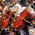 2 Cellos by Debra Hurd